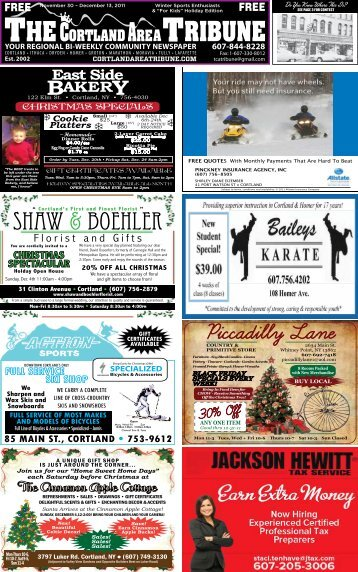 "December 13, 2011 – Winter Sports Enthusiasts & ""For Kids"""