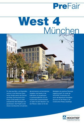 HTC PreFair (West 4_M nchen) - HOCHTIEF SOLUTIONS AG