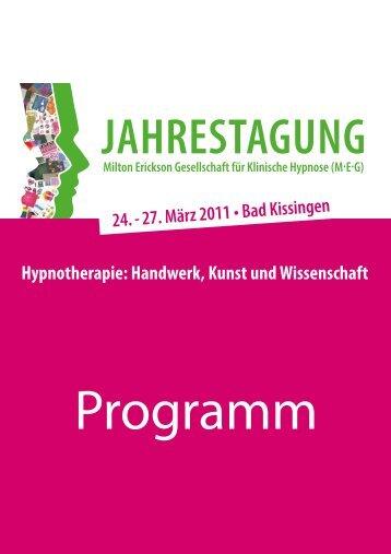 Programm - MEG Jahrestagung 2014