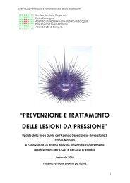 prevenzione e trattamento delle lesioni da pressione - Evidence ...