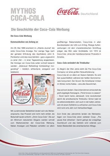 MYTHOS COCA-COLA