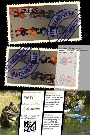 Pfingstcamp Flyer 2011