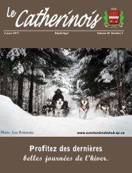 Mars 2011 - Ville de Sainte-Catherine-de-la-Jacques-Cartier