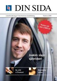 Din Sida vintern 2009 - Länsförsäkringar