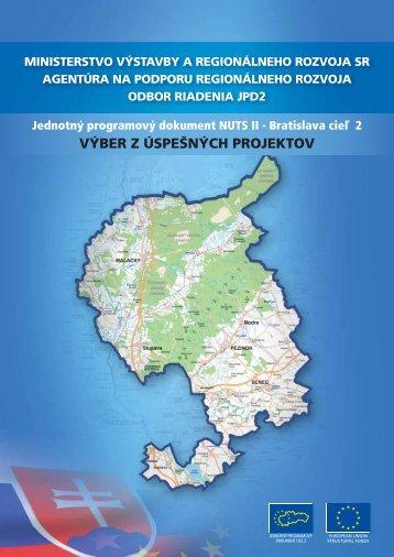 výber z úspešných projektov - Ministerstvo výstavby a regionálneho ...