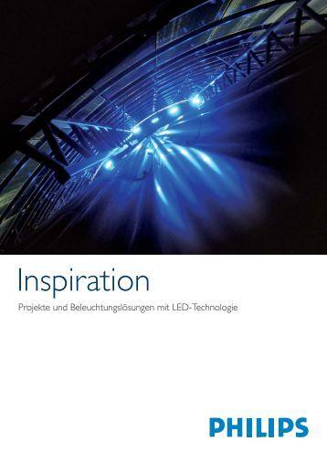 Inspirationen - Produkte und Beleuchtungslösungen mit LED