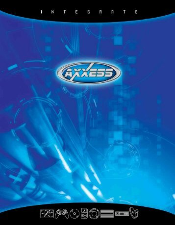 Download 2008 Axxess Catalog