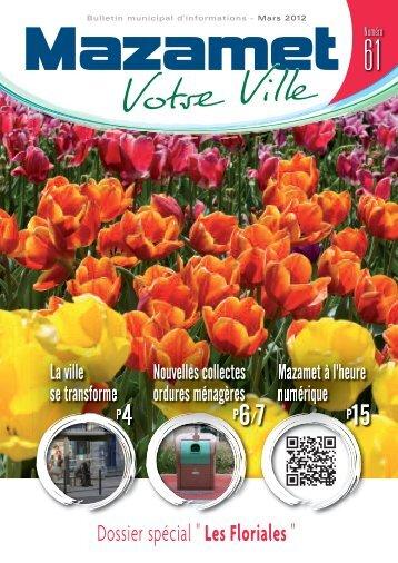 Téléchargez le bulletin municipal de Mars 2012. - Mazamet