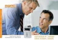 CD5025/P|5030 CDC5520|5525 - Utax