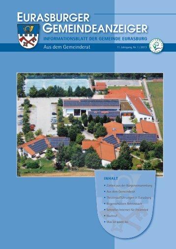 Gemeindeanzeiger 13-1.pdf - Gemeinde Eurasburg