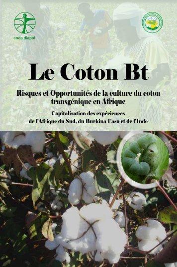 Le Coton Bt - Enda-Diapol
