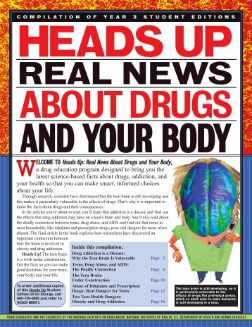 Heads Up: Real News About Drugs and Your Body, a ... - Scholastic