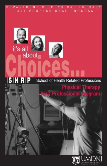 about - School of Health Related Professions