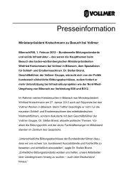 Pressemeldung PDF - Vollmer