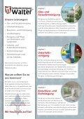 Flyer Gebäudereinigung Walter - Walter Gebäudereinigung - Seite 2