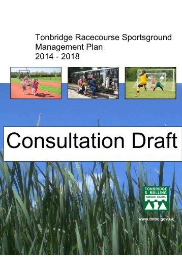Management Plan - Tonbridge and Malling Borough Council