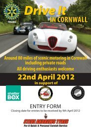 Entry form - The Panther Car Club LTD