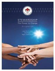 steWardship - Diocese of Saskatoon