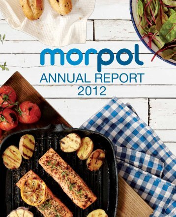 AnnuAl report 2012 - Morpol