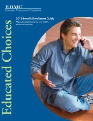 2012 Benefit Enrollment Guide - Education Management Corporation