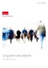 AFF 03/2011 - La guerre des talents