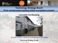 David Johnston Presentation - Good Homes Alliance