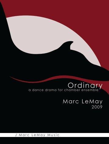 view score (pdf) - Marc LeMay Music