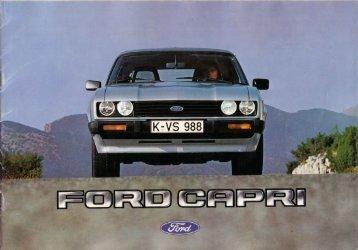 Ford Capri III - Austria - 09.1981 - Capri.pl