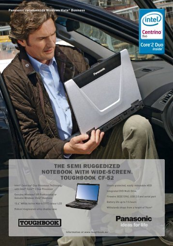 the semi ruggedized notebook with wide-screen ... - Nauticom