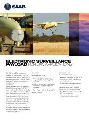 ESP product sheet (pdf) - Saab