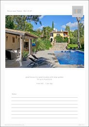 Finca near Palma - Ref. 01-67 - Luxury Holidayhomes on Mallorca