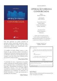 Confira a ficha técnica completa desta publicação - Editora Fórum