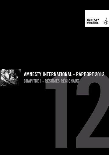 Rapport annuel 2012. Resumes regionaux. Mai 2012. 54 p..pdf