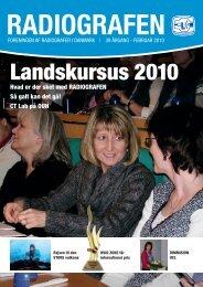 Radiografen 01, februar 2010, årgang 38 - Foreningen af ...