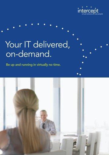 Hosted Services Brochure (PDF) - Intercept IT