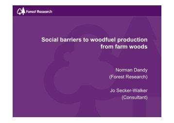 presentation - Farm Woodland Forum