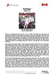 Fantasy - adlmann promotion