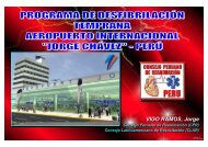 "AEROPUERTO INTERNACIONAL ""JORGE CHAVEZ"" - CPR"
