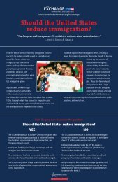 Should the United States Reduce Immigration? [PDF] - National ...