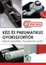 Kézi gyorsszorítók - GIMEX-Hidraulika Kft.