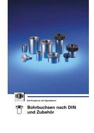 Steckbohrbuchsen DIN 173, Teil 1