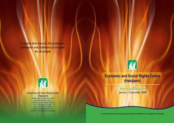 Hakijamii Annual Report 2009
