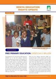 Education Update October 2009 - Hakijamii