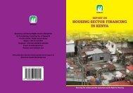HOUSING SECTOR FINANCING IN KENYA - Hakijamii