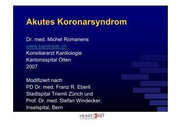 Akutes Koronarsyndrom - Scopri.ch