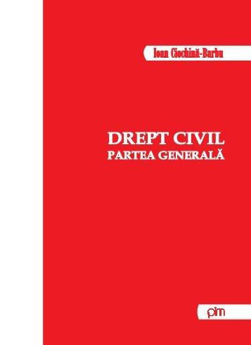 Drept civil. Partea generala - PIM Copy