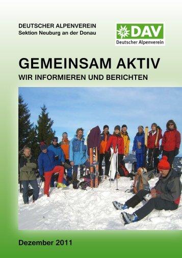 GemeinsAm Aktiv - DAV Sektion Neuburg/Donau