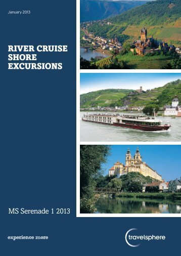River cruise shore excursions - Travelsphere
