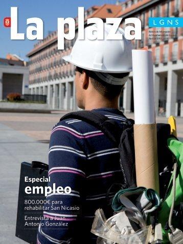La Plaza 157 abril 2010 - Ayuntamiento de Leganés