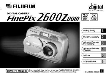 Finepix Z fujifilm Manual